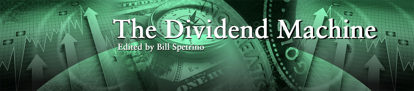 The Dividend Machine Banner